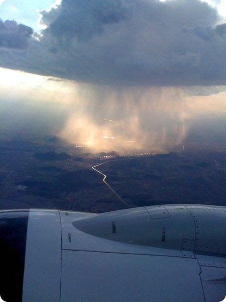 lokale regenbui wolken natuur 1