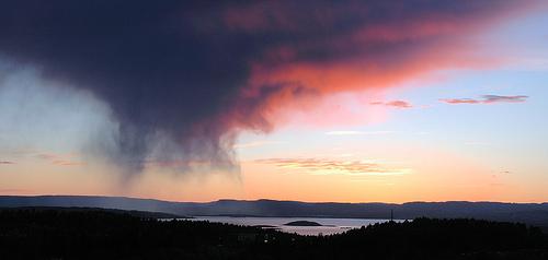 lokale regenbui wolken natuur 6