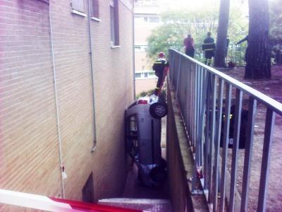 foutparkeren gevallen auto