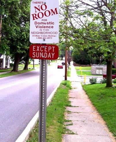 borden-geen-geweld-behalve-zondag