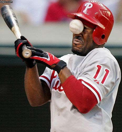 oops-honkbal-gezicht